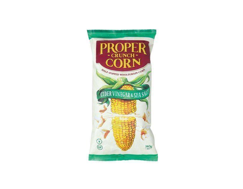 Ginger, Limes, Lemons, Grapefruit Soda Brewery & Proper Crunch Corn
