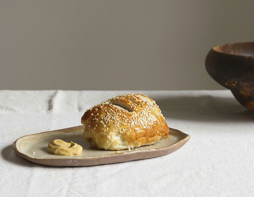 INDIVIDUAL LAMB WELLINGTONS WITH BRAISED FENNEL