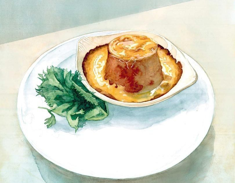 THE ENGINE ROOM TWICE-BAKED GOAT'S CHEESE SOUFFLÉ