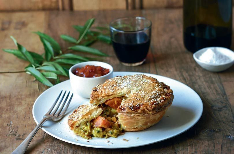 CURRIED VEGETABLE PIES