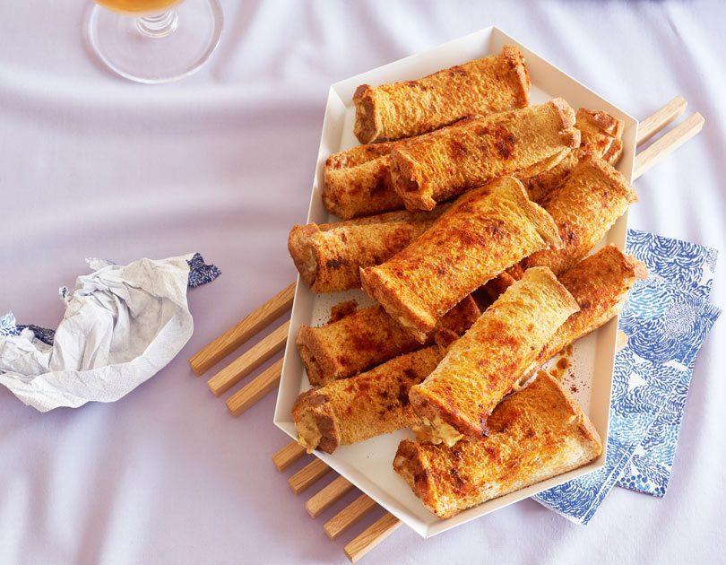 Caramelised Onion & Cheese Rolls