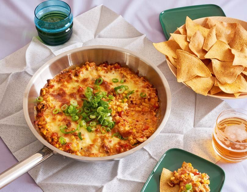 Kimcheesy Corn