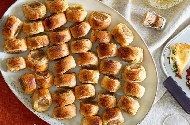 Pork & Caramelised Onion Sausage Rolls