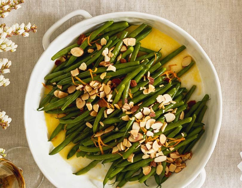 Green Beans with Citrus Butter & Almonds