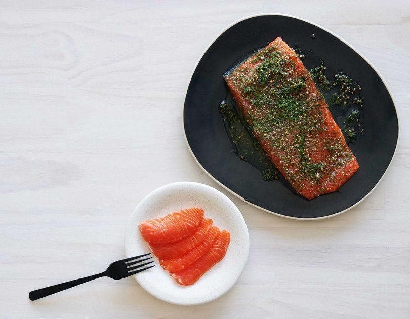 Peppered Aroma Salmon