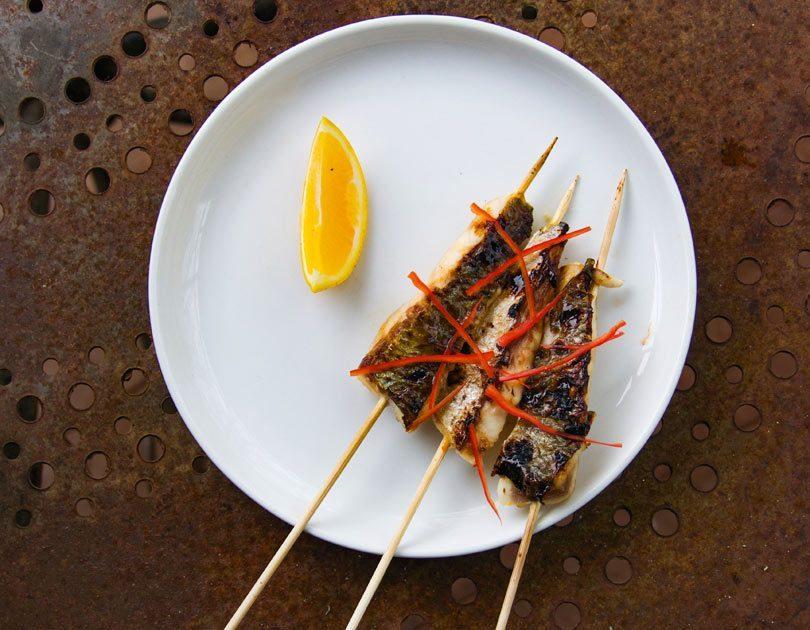 Fish Yakitori