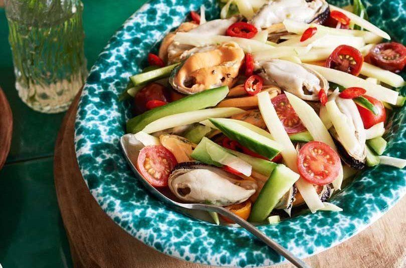 Coconut Mussel Salad