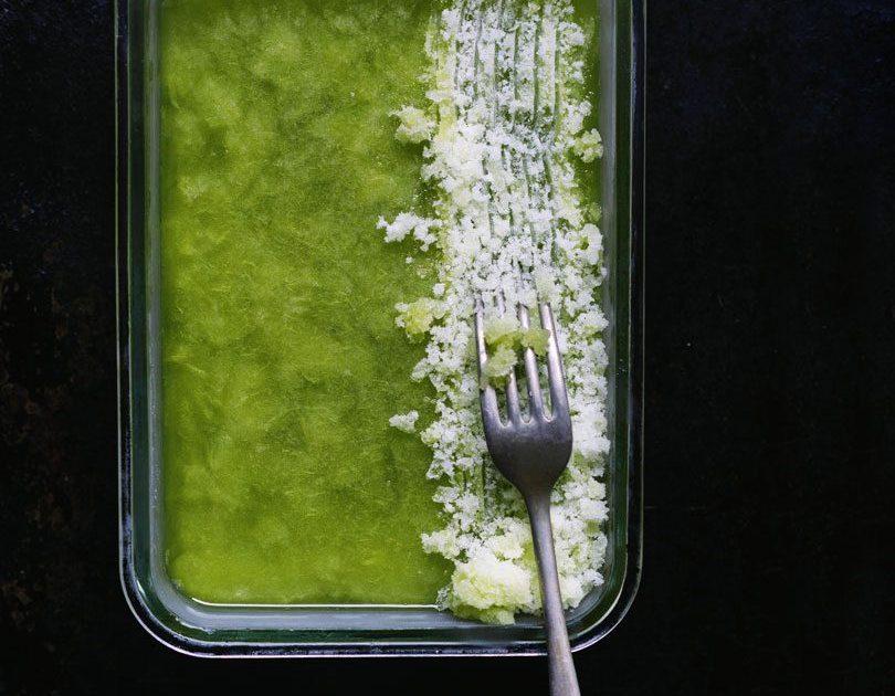 Cucumber & Lime Granita