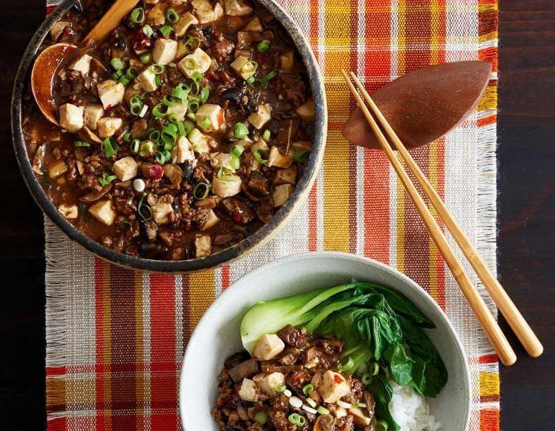 Venison & Mushroom Mapo Tofu