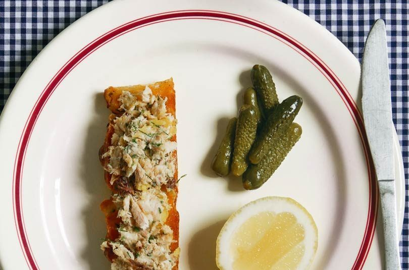 POTTED SMOKED FISH WITH CITRUS BUTTER