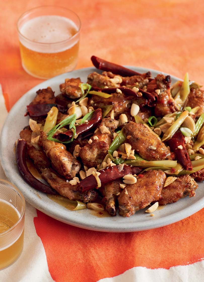 BAKED KUNG PAO CHICKEN NIBBLES