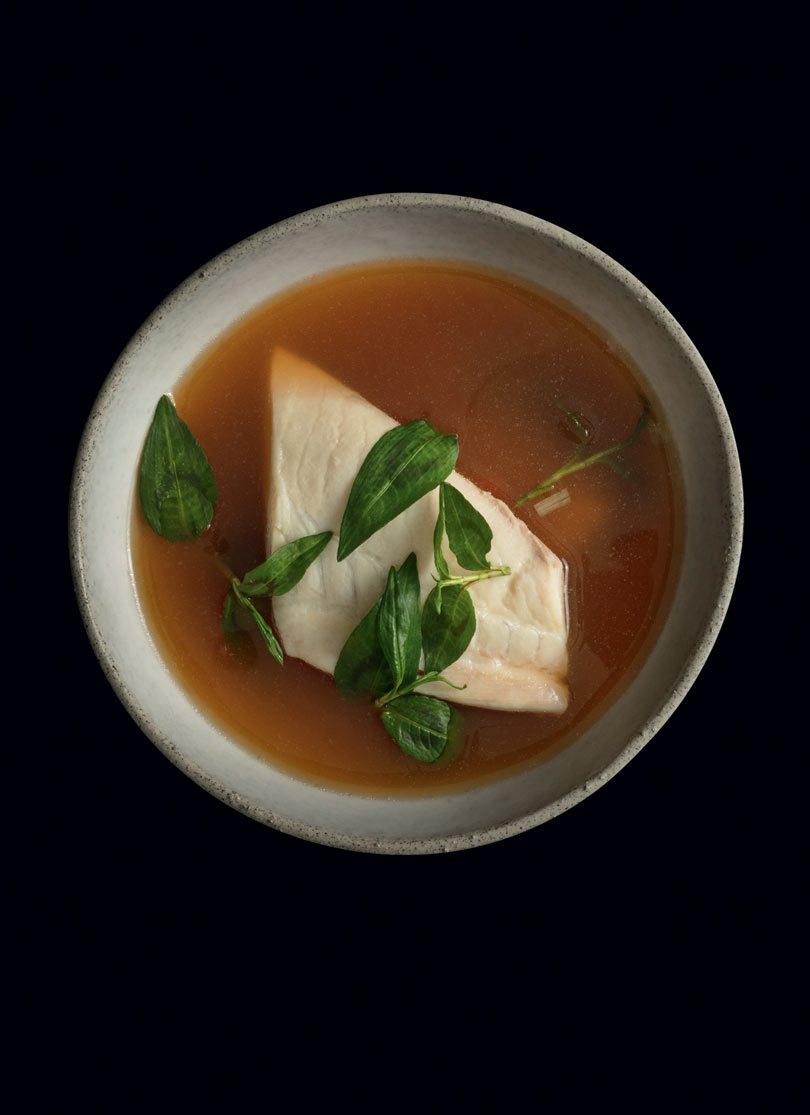 HOT & SOUR FISH SOUP (DTOM YUM PLA)