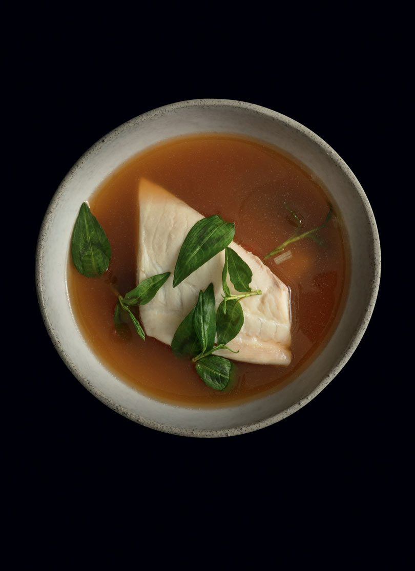 HOT & SOUR FISH SOUP (DTOM YUM PLA)