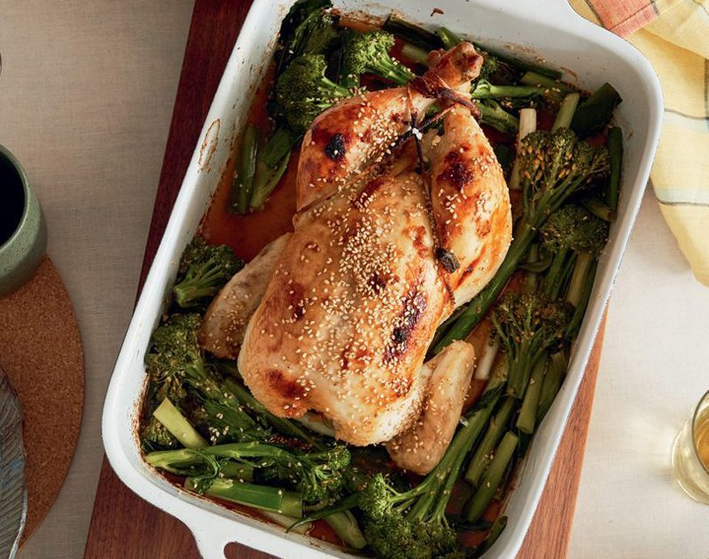 ROASTED MISO GINGER CHICKEN