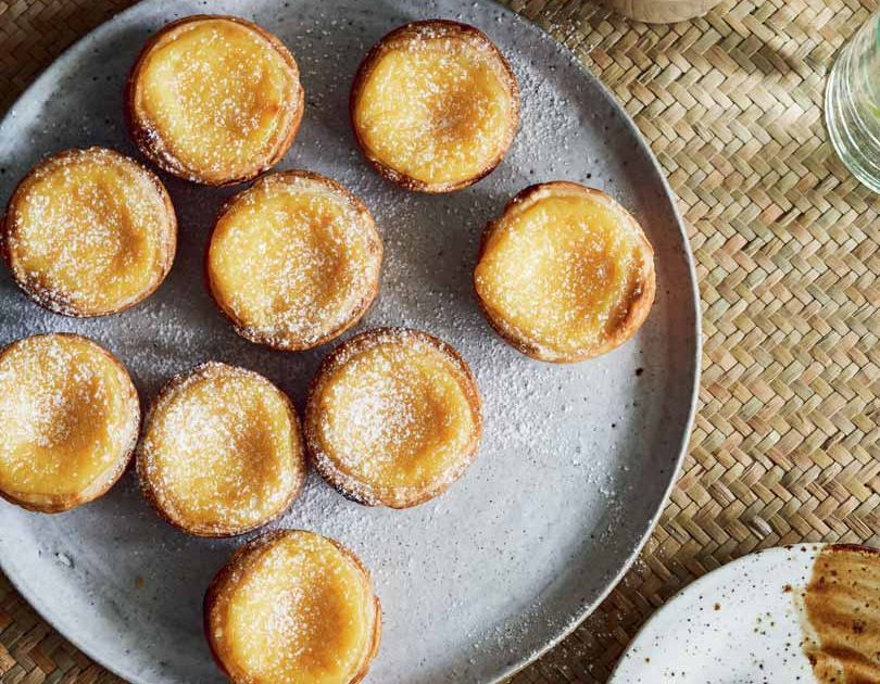 LEMONGRASS EGG TARTS