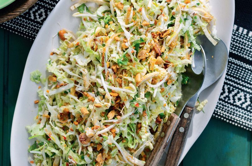 SHREDDED TOFU SALAD WITH LEMONGRASS-COCONUT DRESSING