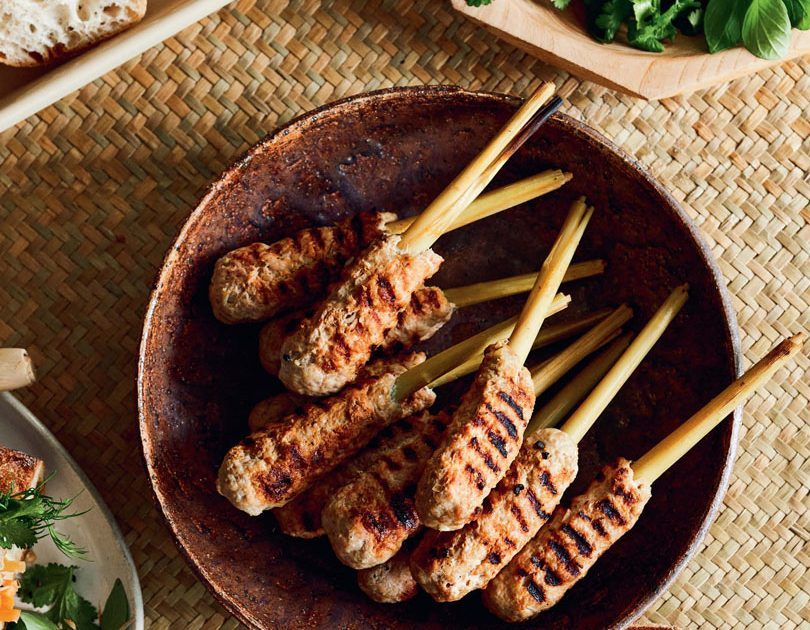 VIETNAMESE PORK & LEMONGRASS SKEWERS