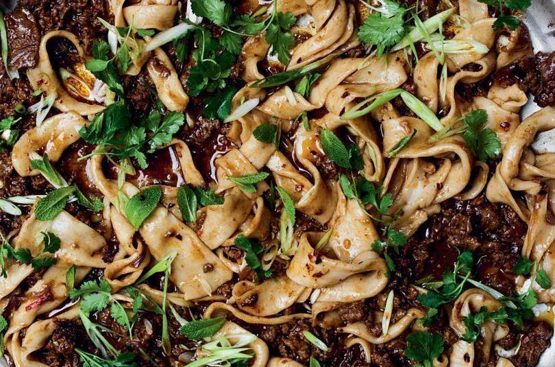 Xi'an lamb & cumin noodles