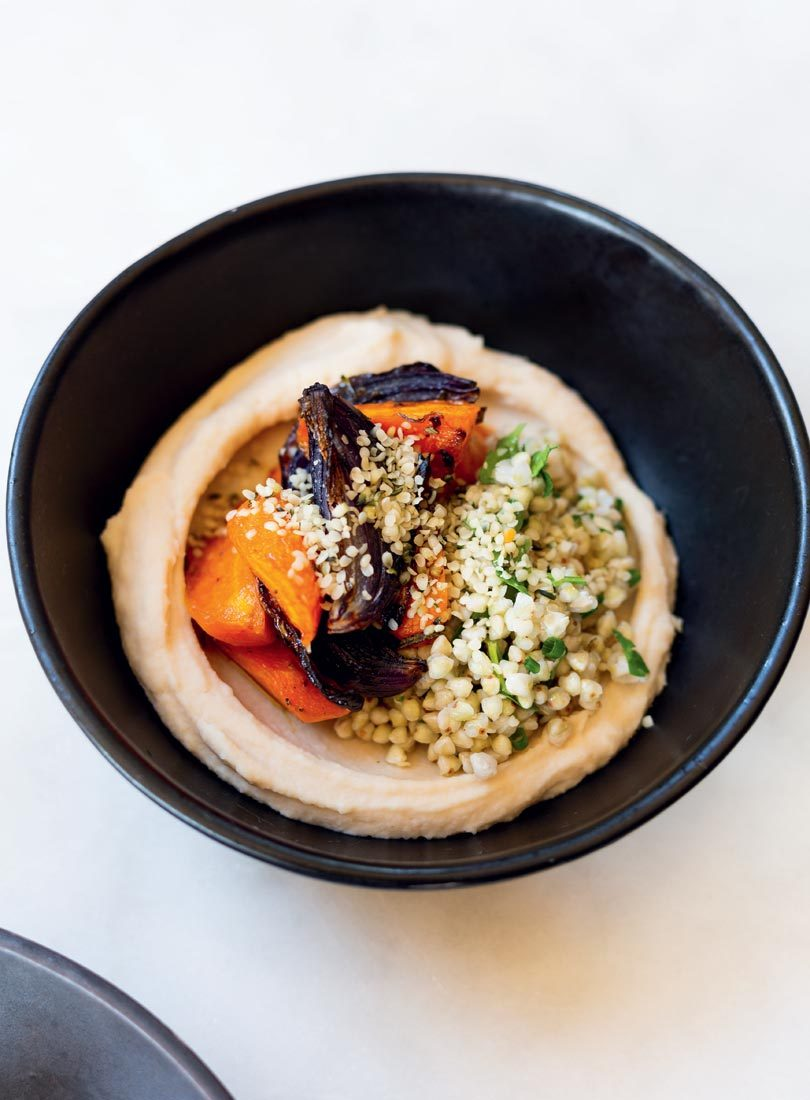 ROASTED CARROT & RED ONION BOWL