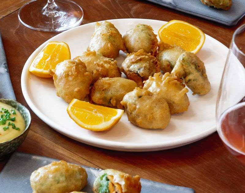 GREEN-LIPPED MUSSEL BEIGNETS