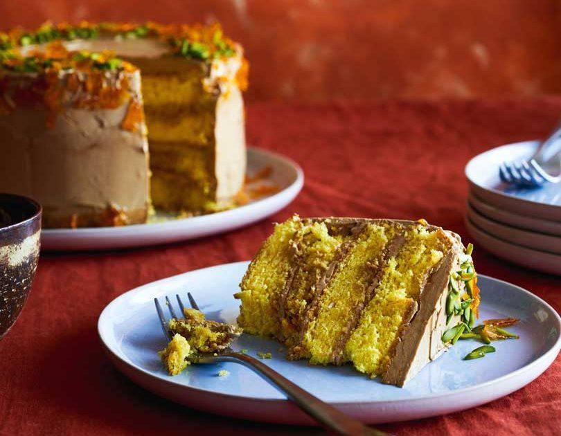 SAFFRON & COFFEE CAKE