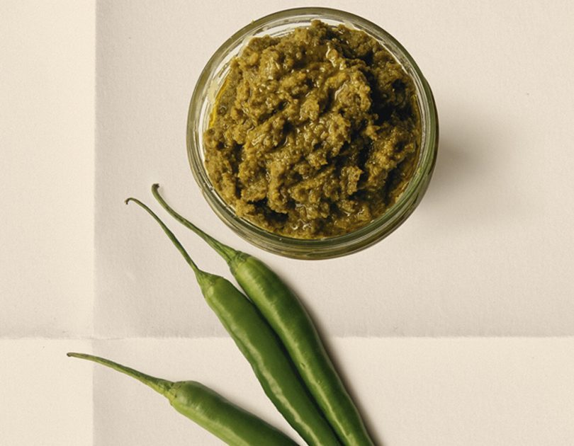 FERMENTED GREEN CHILLI PASTE