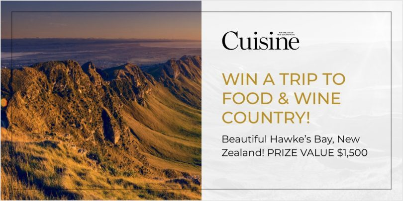 WIN A TRIP TO FOOD & WINE COUNTRY!